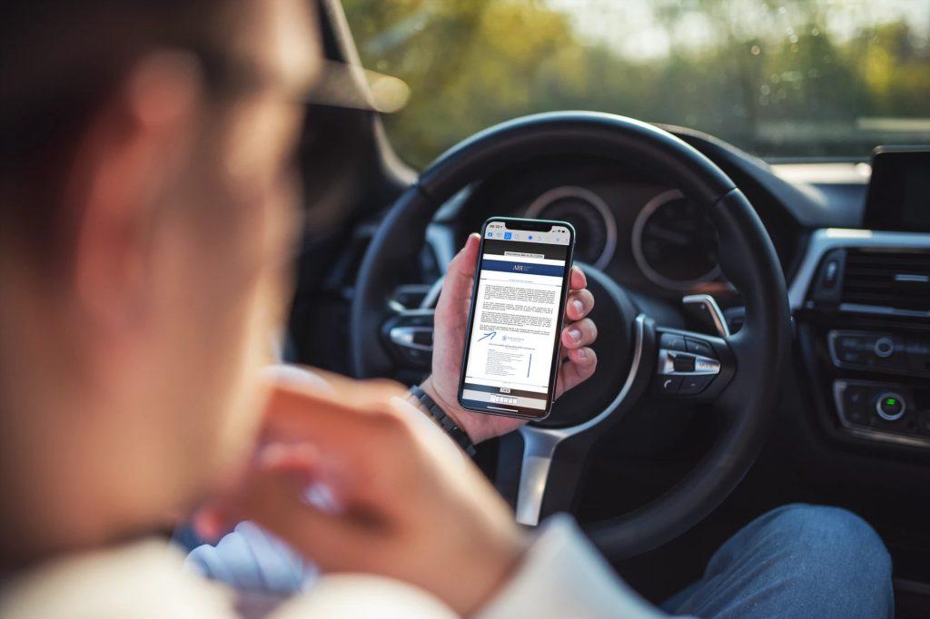 Consulta i documenti prima di partire, dal tuo smartphone. Con CDA ON BOARD.